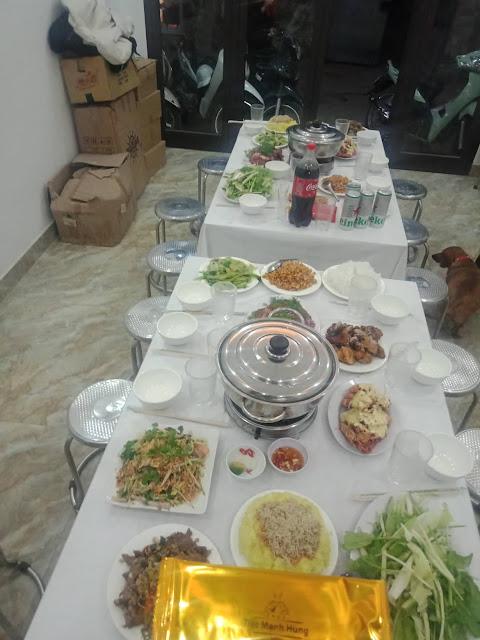 Tiệc Mạnh Hùng- dichvunauco.com
