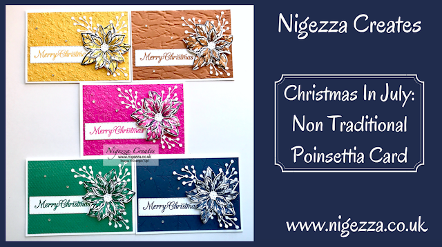 Nigezza Creates with Stampin' Up! & Poinsettia Petals