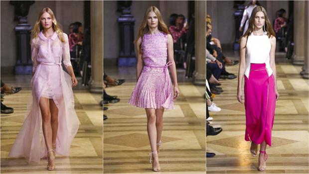 كارولينا هريرا تعود مرة أخري إلى الأناقة الكلاسيكية مع كولكشن جديد لأزياء ريزورت 2017