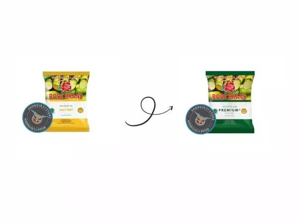 Ini Bedanya Rose Brand Gula Kemasan Kuning dan Rose Brand Gula Premium Kemasan Hijau
