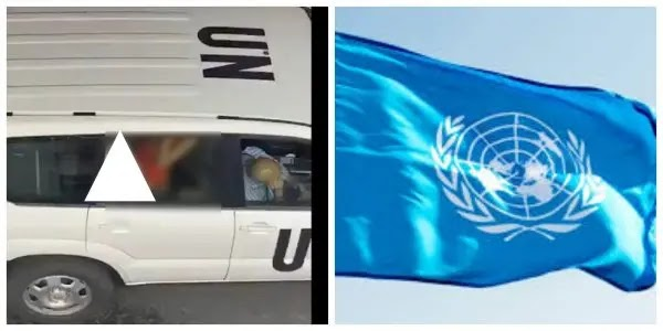Couple having sex in United Nations, UN official vehicle – UN reacts