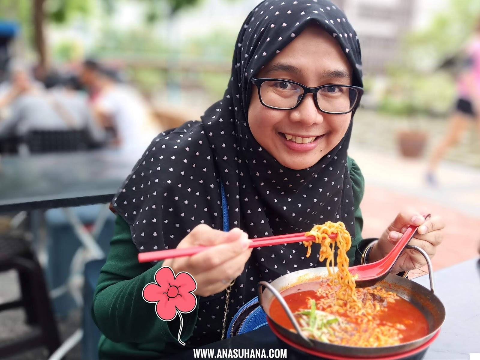 Ramen Asam Pedas vs Cendol Durian di Cendol Kampung Hulu Melaka