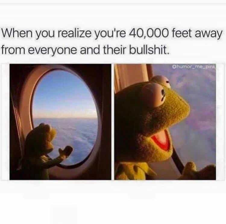 During you flight