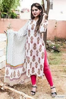 Women's kurti with dupatta