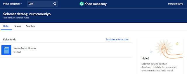 Beranda khan academy