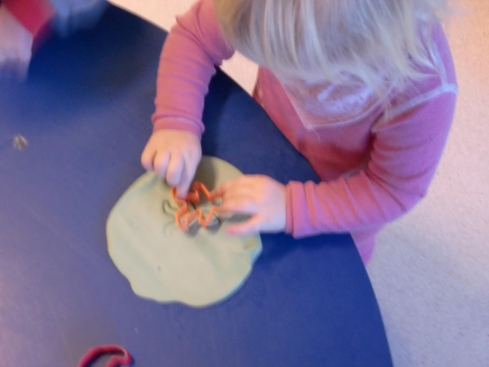 lage plastelina av sand
