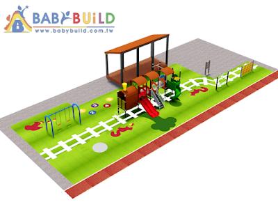 BabyBuild 特色遊戲場示意圖