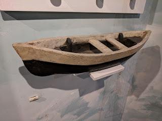 Ecuadorian cholo pescador boat model