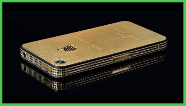 IPhone 4s Elite Gold - Most expensive phones in the world