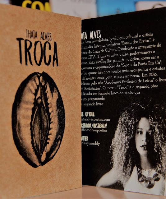 """Thata Alves lança livreto """"Troca"""" inspirado na ancestralidade feminina"""