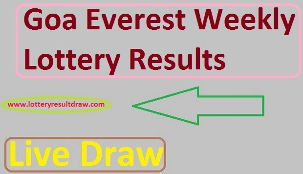 Goa Everest Mangal Weekly Lottery Results 13 August 2019