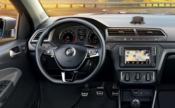 interior Volkswagen Saveiro 2017