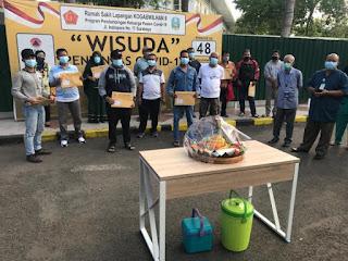 Total Pasien Sembuh Covid-19 di RSDL Indrapura Tembus 1.022