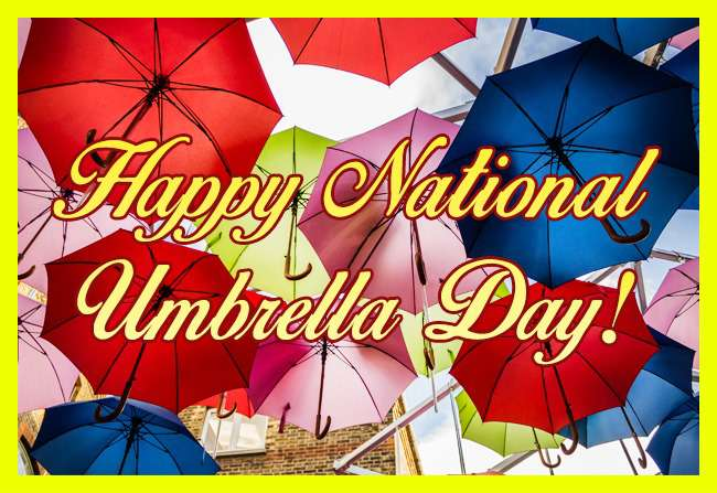 National Umbrella Day Wishes Awesome Images, Pictures, Photos, Wallpapers