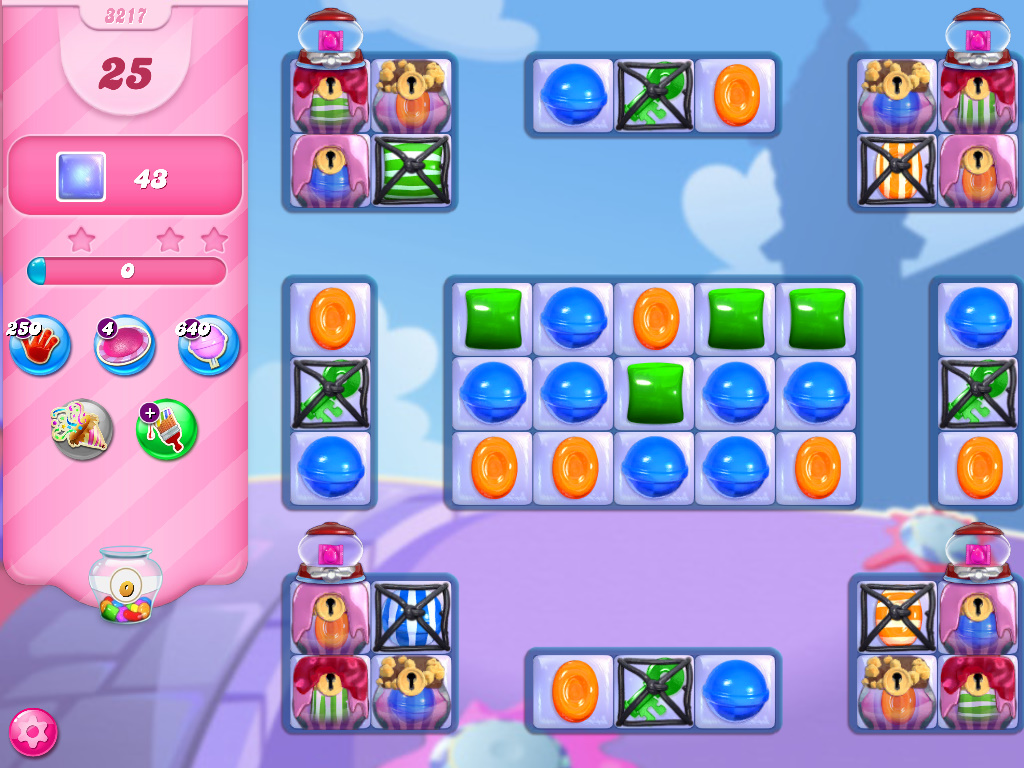 Candy Crush Saga level 3217