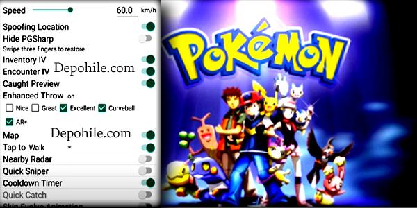 Pokemon Go 0.211.3 Yürüme, GPS Hilesi Mod Apk 2021