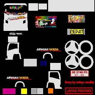 Download Livery Truck Jagoan Muda