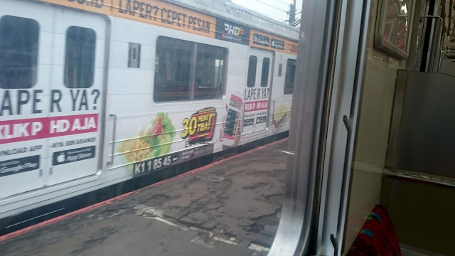 Commuter or Railway Transport, Jakarta - Image: Author