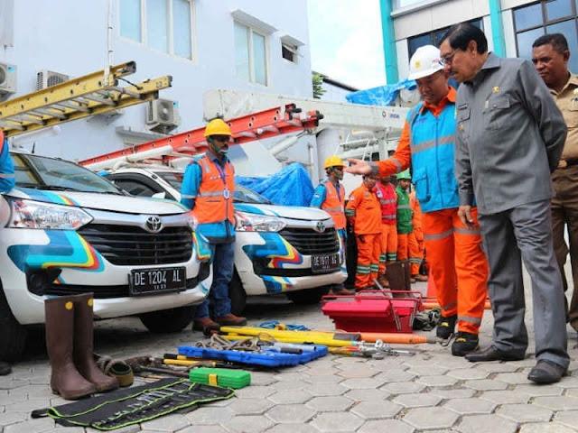 Zeth Sahuburua Buka Apel Bulan K3 Nasional 2019 PLN Kota Ambon