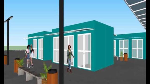 Vila do Artesanato da Ilha terá 37 boxes, paisagismo, iluminação , cobertura externa e corredores de circulação