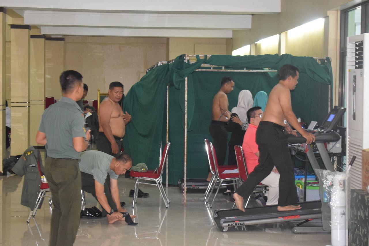 Lakukan Rikkes Berkala, Kasrem 081/DSJ: Kesehatan Penting Bagi Prajurit