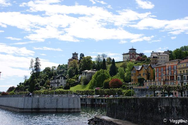 Il lungo lago di Stresa e le eleganti ville