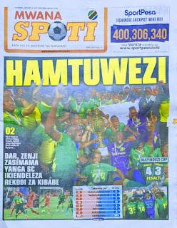 Habari Kubwa Za Magazeti Ya Tanzania Leo January 14, 2021