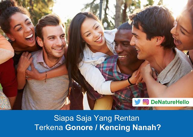 Orang Yang Rentan Terkena Kencing Nanah (Gonore)