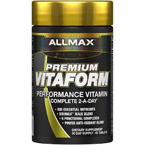 ALLMAX Nutrition - Premium Vitaform, Performance MultiVitamin