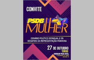 No próximo dia 27: PSDB Mulher discute desafios da representação feminina na política e cenário estadual para 2020