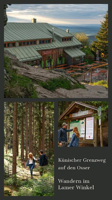 Künischer Grenzweg auf den Osser Wanderweg La1 im Lamer Winkel Wandern im Bayerischen Wald 32