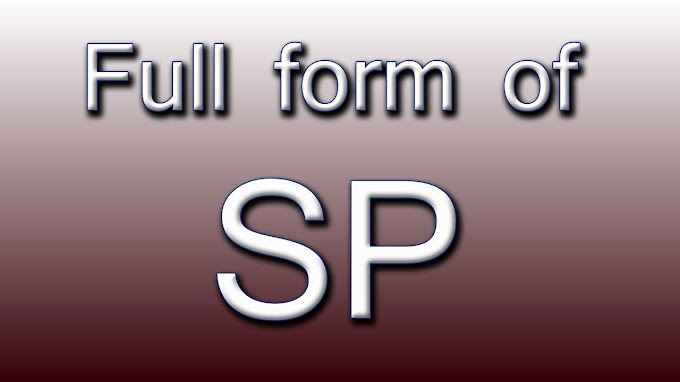 What is the Full Form of SP?
