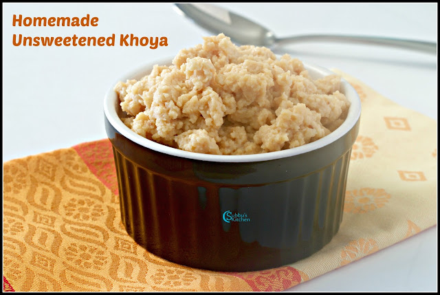 Homemade Khoya Recipe | How to make Mawa at Home