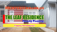 Info Perumahan The Leaf Residence