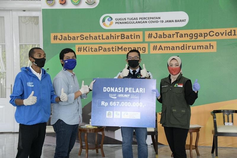 2.000 Pelari Donasikan Uang Pendaftaran untuk Penanggulangan COVID-19 di Jabar