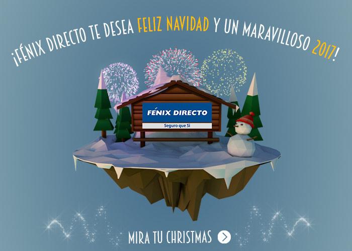 FÉNIX DIRECTO te desea Feliz Navidad y un maravilloso 2017