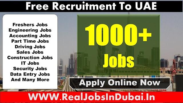 Latest New Jobs In Dubai UAE