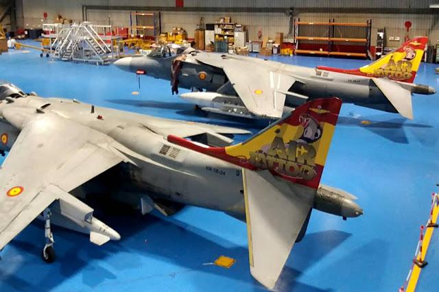 Spanish Harrier special Air Tattoo