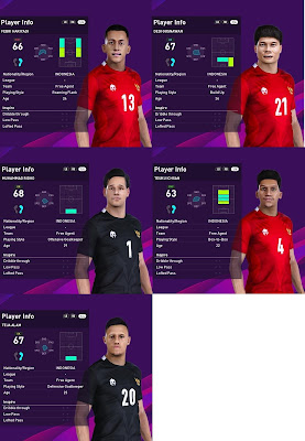 PES 2020 Facepack Indonesia by SR