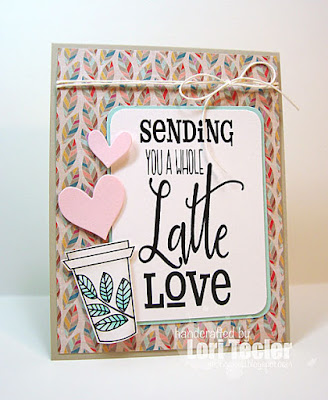 A Whole Latte Love card-designed by Lori Tecler/Inking Aloud-digital images and dies from Verve Stamps