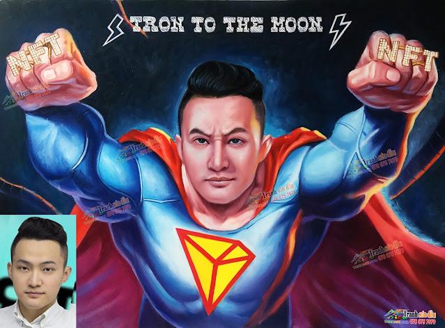 Vẽ chân dung của bạn thành siêu nhân
