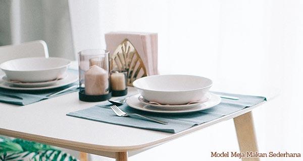 model meja makan sederhana