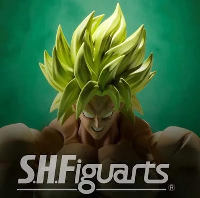 S.H.Figuarts del nuevo Broly de Dragon Ball Super Broly