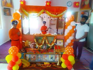 श्री गुरु नानक देव जी के 550 वे प्रकाश पर्व पर नगर में आयोजित हुऐ कार्यक्रम