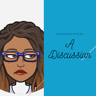 Image: Black Woman With Blue Glasses Side-eyeing