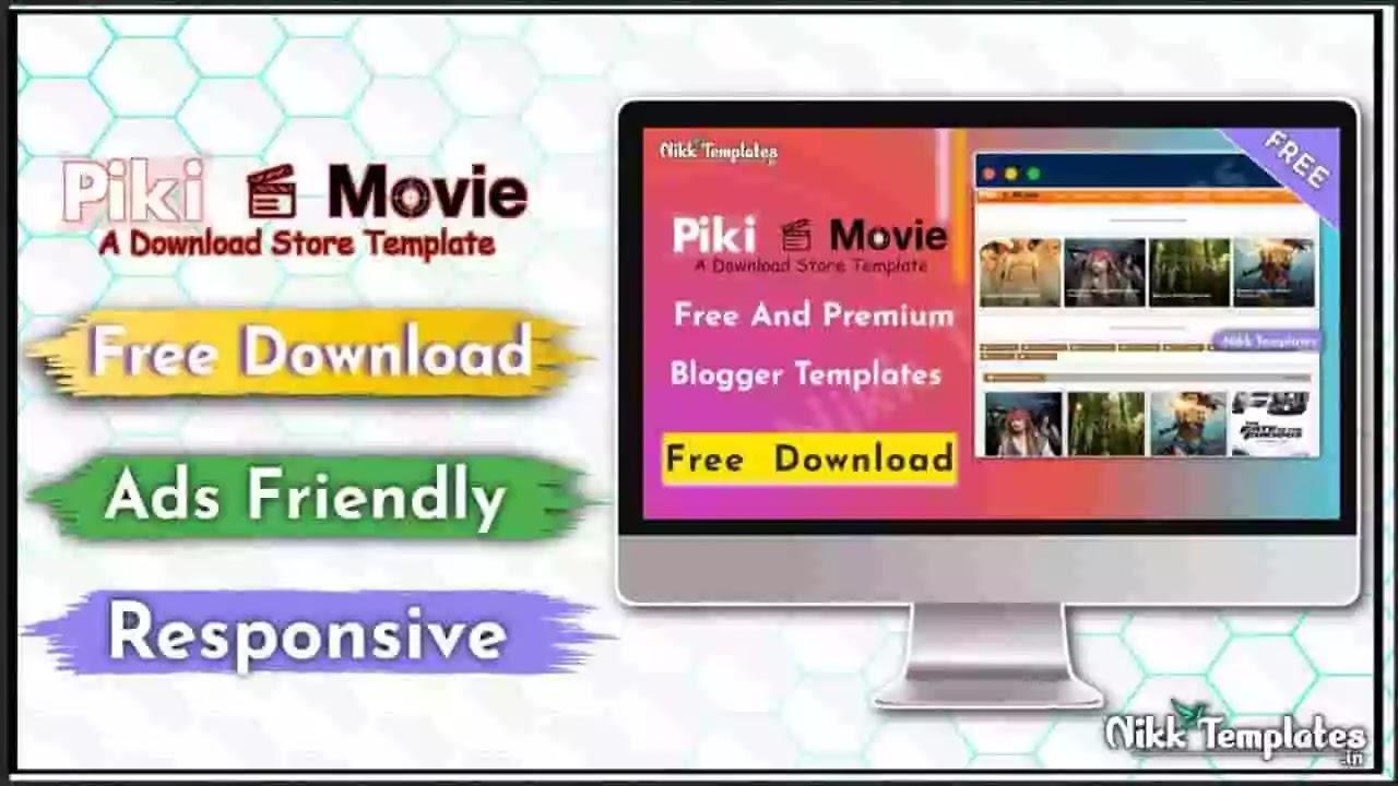 Piki Movie - Responsive Blogger Template - Nikk Templates