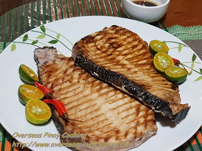 Grilled Blue Marlin Steak