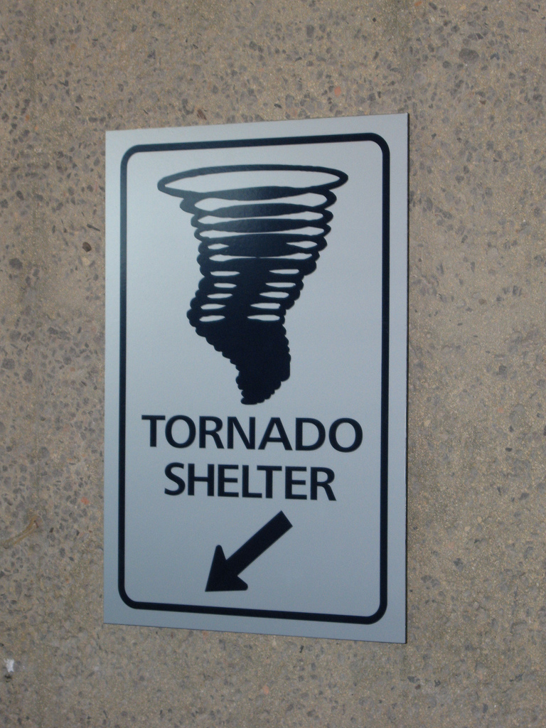 In which situation is shelter-in-place the best option