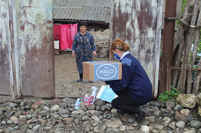The HALO Trust ayuda Nagorno Karabakh