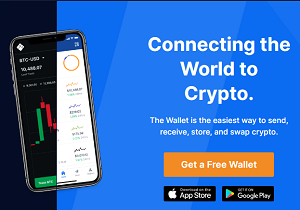 Visit blockchain.com or use the blockchain app ( If you want to use a mobile option, download & open the app).